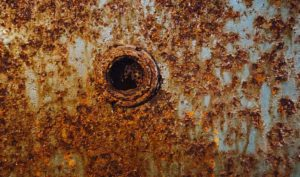 Rusty Metal Inside Image