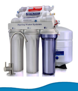iSpring RCC7AK under sink reverse osmosis drinking water filter system